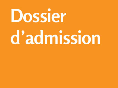 Dossier d'admission