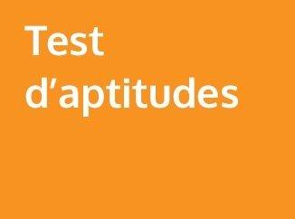 Test d'aptitudes