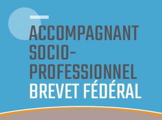 Accompagnant·e socioprofessionnel·le avec brevet fédéral